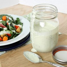 DIY ranch dressing?! Sounds easy enough even for me
