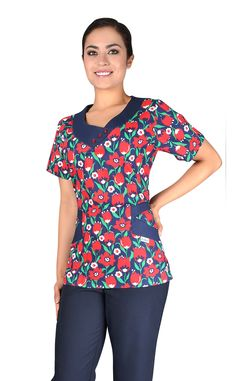 27 Best Scrub Suit Design Images Nursing Jackets Outfits