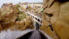 Chiapas POV Awesome Themed Log Flume Water Roller Coaster Phantasialand ...