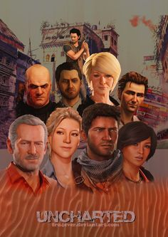 Uncharted - Heroes and Villains.