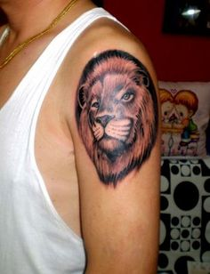 a cute l#lion #tattoo