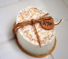 Homemade Lemon Soap: http://www.lifestyledsimply.com/2013/12/diy-christmas-part-ii.html