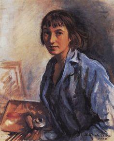 Imagen de http://uploads0.wikiart.org/images/zinaida-serebriakova/self-portrait-1930.jpg.