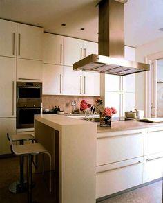 37 mejores im genes de decoraci n de cocinas peque as - Fotos de cocinas pequenas y modernas ...