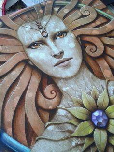 Matteo Arfanotti Blood Art, Female Power, Metal Artwork, Powerful Women, Art Tutorials, Ceramic Art, Body Painting, Tarot, Folk Art