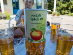 Rund um den Baldeggersee: Schmeckt fein: Apfelsaft aus Seetaler Hochstammbäumen