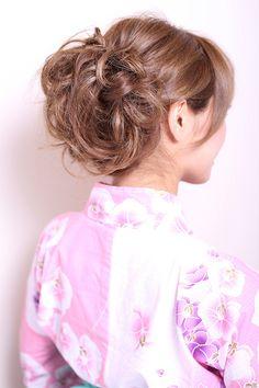 NATURAのヘアスタイル | 浴衣アレンジ☆ | 東京都・青山・表参道の美容室 | Rasysa(らしさ)