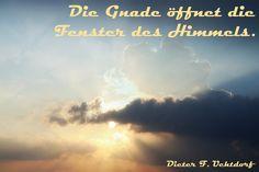 Dieter F. Uchtdorf über die Gnade Gottes - https://www.lds.org/general-conference/watch/2015/04?lang=deu&vid=4155074090001&cid=12  #ldsconf #PresUchtdorf #Gnade #GedankenTeilen