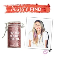"""Beauty Find: Major Moonshine Glitter Hair Gel"" by polyvore-editorial ❤ liked on Polyvore featuring beauty, Major Moonshine and beautyfind"