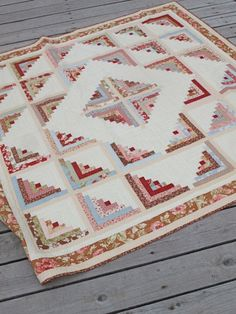 Log Cabin Quilt Pattern - Quilting Digest