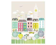 London Print Prints of london Wall Art Big Ben by lauraamiss
