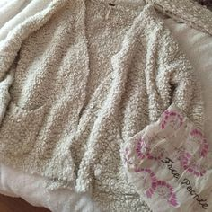 Free People Marshmallow cardigan Super soft! Limited item! Free People Sweaters Cardigans