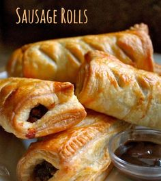 Great for a Snack or a Meal - Christina's Cucina Christina's Cucina: Homemade Scottish Sausage Rolls.Great for a Snack or a MealChristina's Cucina: Homemade Scottish Sausage Rolls.Great for a Snack or a Meal Scottish Dishes, Scottish Recipes, Irish Recipes, Beef Recipes, Cooking Recipes, Scottish Meat Pie Recipe, Best Sausage Roll Recipe, English Recipes, Recipes With Hp Sauce