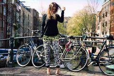 Fashion, bikes and Amsterdam