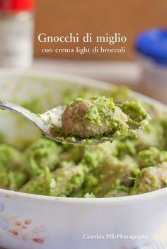 Semplicemente Light: Gnocchi di miglio con crema light di broccoli