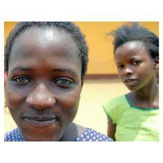 Beautiful eyes in girls  from Tanzania.