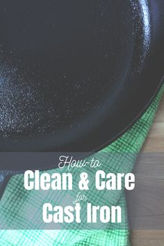 Cast iron care and restoration may seem intimidating, but fear not. Cast iron is easy to care for and if done properly, can last for years. Cast Iron Care, Living On A Budget, Get Out Of Debt, Chef Recipes, Blogging For Beginners, Cleaning Hacks, Kitchen Ideas, Budgeting, Restoration