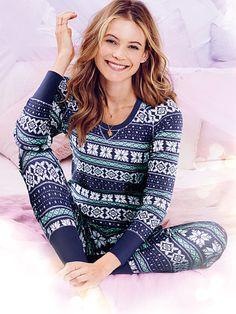 The Fireside Long Jane Pajama