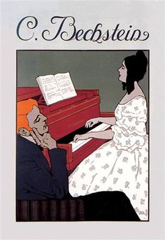 C. Bechstein - Music Lesson http://www.walls360.com/music-wall-graphics-s/1942.htm