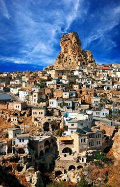 'Ortahisar, the Medial Castle' by Hercules Milas Grand Canyon Photography, Cultural Capital, Pamukkale, Turkey Travel, Cappadocia, Hercules, Travel Usa, Night Life, Mount Rushmore