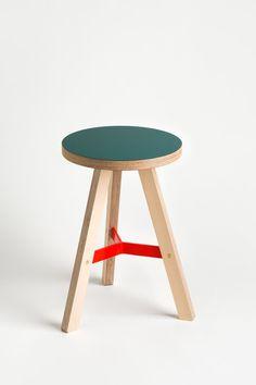 Y stool — Bespoke plywood furniture