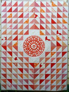 Charming Triangles Quilt