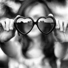 Fashion Style Hearts Shaped Frame Super Sexy Women Sunglasses black color on Etsy, $3.99