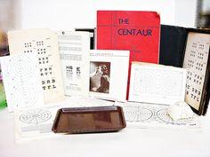 Vintage Medical OPTOMETRIST EPHEMERA Collection by DecadesAntiques