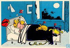 Carte postale - Franquin, André - Spirou, Marsupilami et Spip nr 2002