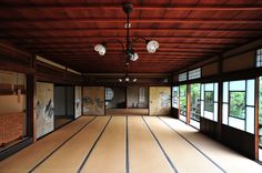 I'm going to have a dojo in my home one day. Japan Architecture, Sustainable Architecture, Residential Architecture, Contemporary Architecture, Pavilion Architecture, Japanese Dojo, Japanese House, Japanese Interior Design, Japanese Design