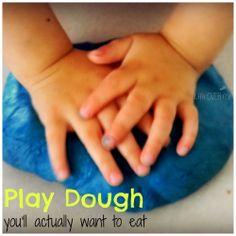 Edible Gelatin-Honey Play Dough