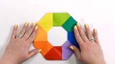 Origami Basics Magic Circle Tutorial