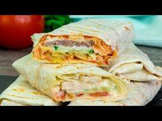 Un bucătar turc m-a învățat să fac shaorma, este nemaipomenită! | SavurosTV - YouTube Shawarma, Chipotle Rice, Latin Food, Fajitas, Fresh Rolls, Street Food, New Recipes, Sandwiches, Brunch
