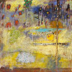Light Erases and Delineates | oil on canvas | 30 x 30"