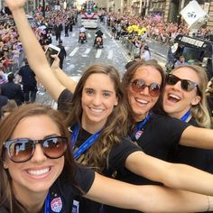 "U.S. Soccer WNT on Instagram: ""Thank you NYC! Love, the gals."""