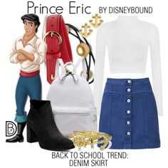 DisneyBound is meant to be inspiration for you to pull together your own outfits which work for your body and wallet whether from your closet or local mall. As to Disney artwork/properties: ©Disney Disney Bound Outfits Casual, Cute Disney Outfits, Disney Themed Outfits, Disneyland Outfits, Disney Dresses, Cute Outfits, Disney Clothes, Disney Character Outfits, Character Inspired Outfits