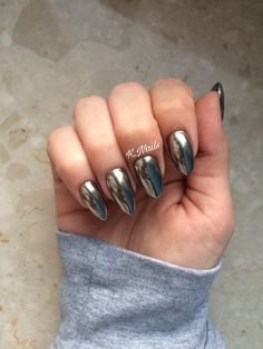 Chrome nails Mirror powder