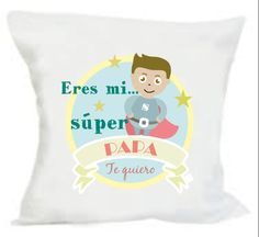 Cojin regalo personalizado para el dia del padre. WWW.giftseventos.es