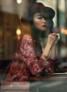 Park Ji Hye by Hans Feurer for SKP Magazine China Winter 2015
