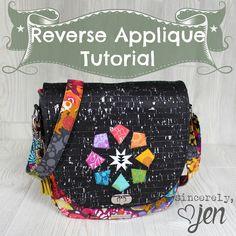 Reverse applique tutorial - Sincerely Jen
