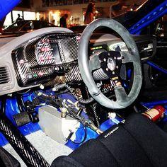 Interior Richard Burns #Subaru WRC....