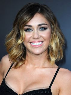 back when Miley was rocking an ombre bob. I absolutely love this girls!!