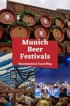 Beer enthusiasts will want to attend the three major beer festivals in Munich, Germany! Here's your guide to the capital of German beer festivals. Packing For Europe, Europe Travel Guide, Travel Guides, Austria Travel, Germany Travel, Munich Beer Festival, Amazing Destinations, Travel Destinations, Drink Bucket