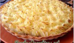 Pastel de papas con base te tarta