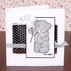 Inspiration | docrafts.com Baby Cards, Kids Cards, Scrapbook Cards, Scrapbooking, Beren, Tatty Teddy, Husband Birthday, Animal Cards, Mondays