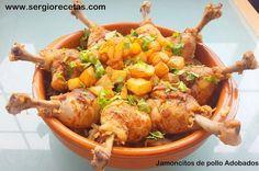 Receta de jamoncitos de pollo adobados