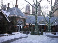 Tavern on the Green. Very glad we were able to take Ava here a few times before it closed. Ditto for the Rainbow Room.