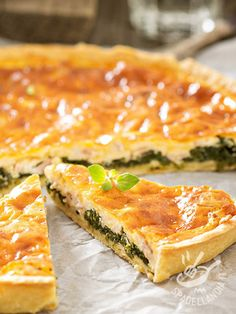 Quiches, Low Carb Recipes, Cooking Recipes, Yummy Food, Tasty, Fish Dinner, Frozen Strawberries, Pancetta, Savoury Dishes
