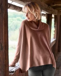 It's very expensive, but I LOVE this Garnet Hill cashmere cowl-neck jumper in Heathered Oat/Beige colour. Size M (8-10). Something like it would be wonderful!