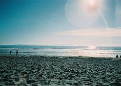 glare and sand.